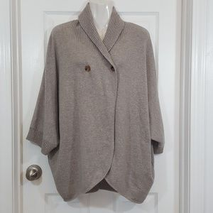 TSE Cape Sweater Cardigan 100% Cashmere
